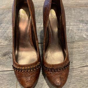 Isola brown pumps/heels